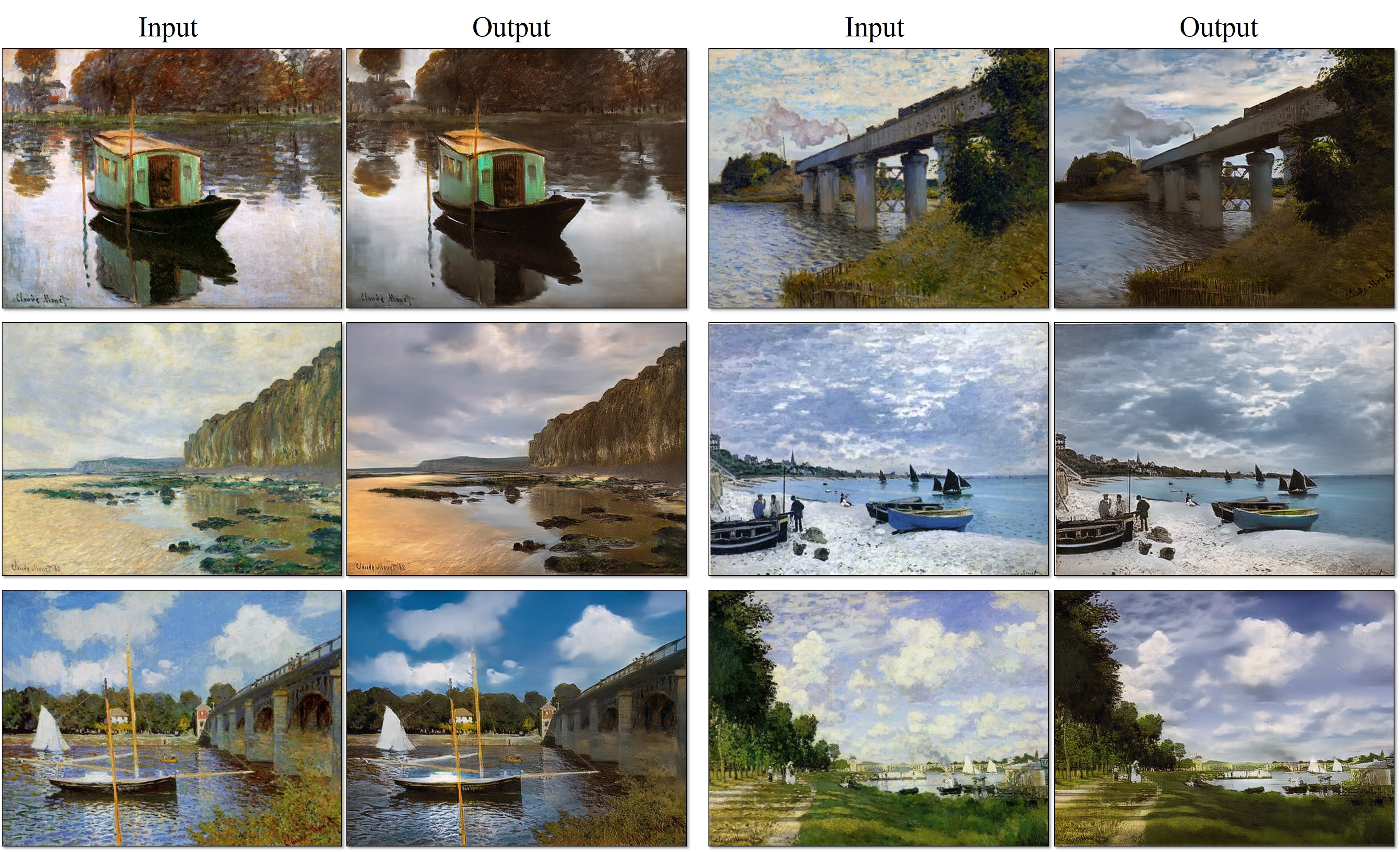 Monet Paintings → Photos